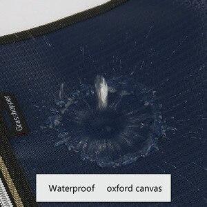 Image 4 - A4 קובץ תיקיית מקרה נייד תיק נייד אוקספורד בד גדול קיבולת משרד עסקי כנס מסמך תיק התאמה אישית