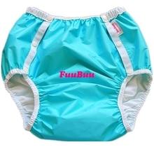 Free Shipping FuuBuu2214-BLUE-L Adult Diaper/ incontinence pants/ diaper changing mat