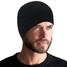 Cap Beanie Outdoor Windproof with Hat Warm-Cap Cycling Fleece Elastic Skiing Running