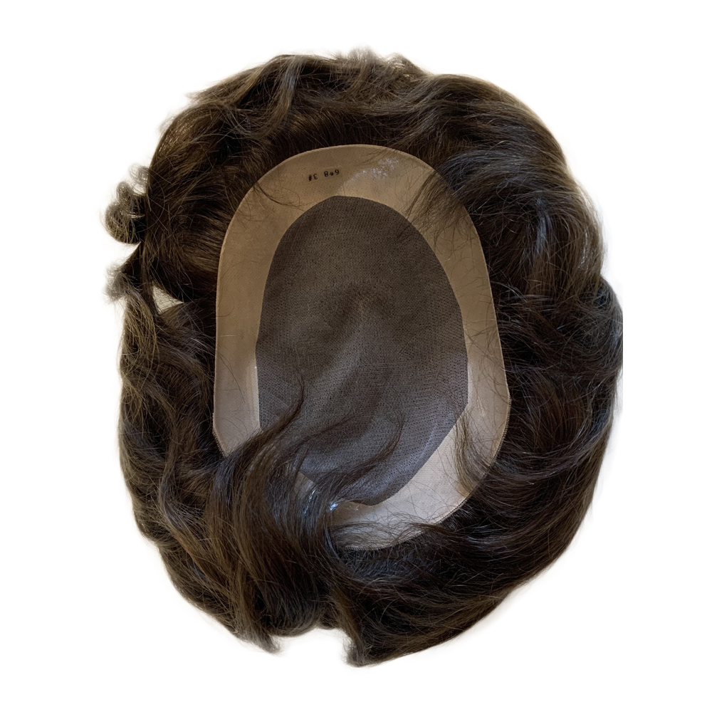pecas de cabelo humano europeu para homem 02
