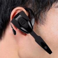 Auriculares de negocios con Bluetooth con micrófono para coche, cascos inalámbricos con gancho para la oreja, manos libres, Larga modo de reposo de conducción