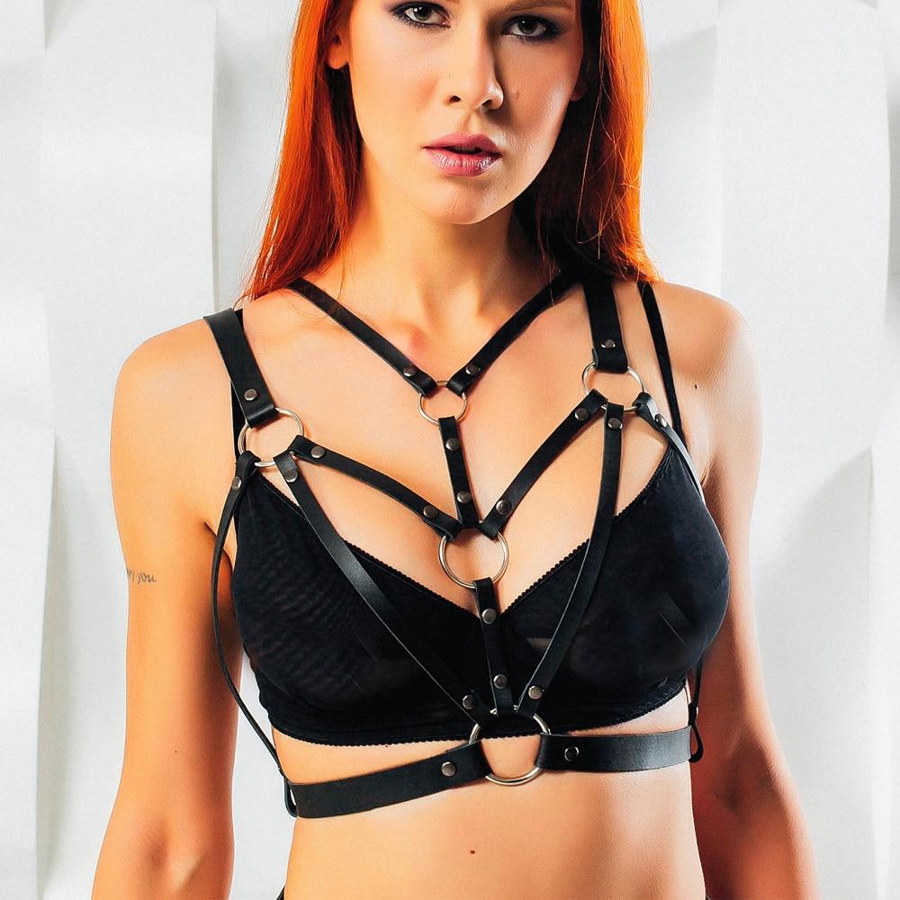 Leather-Harness-Lingerie-For-Women-Body-Bondage-Cage-BRA-Body-Garter-PU-Belt-Suspender-Harness-Bra (2)