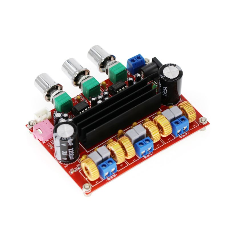 New Amplifier Board TPA3116D2 50Wx2+100W 2.1 Channel Digital Subwoofer Power 12~24V|Operational Amplifier Chips| |  - title=