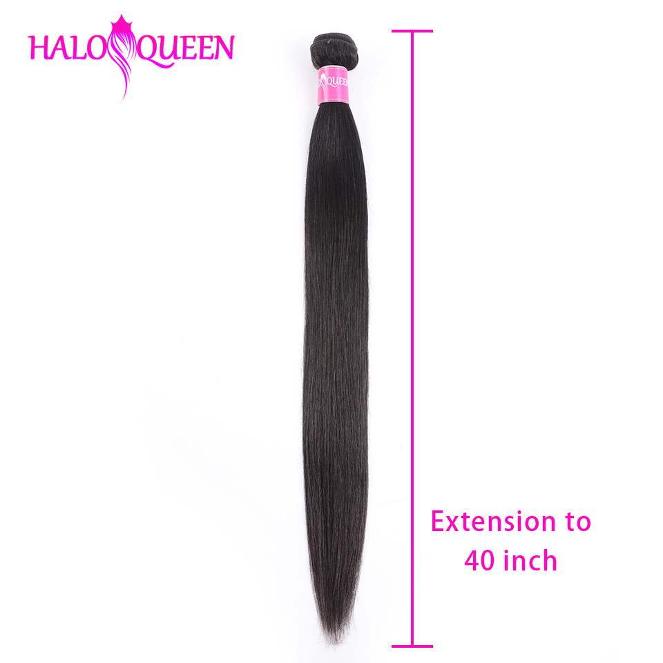 HALOQUEEN Remy Hair Bundles Straight Raw Indian Bundles Hair 40 Inch  Bundles Human Hair Extension Wholesale Weaving Bundles