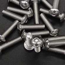 500 Pcs/Lot M3 M4 M5 Stainless Steel Hexagon Socket Head Screw Bolt Nut 304 Screws Mounting Hardwares
