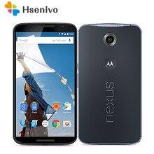 Motorola Nexus 6 odnowiony-oryginalny telefon komórkowy XT1100 5.96