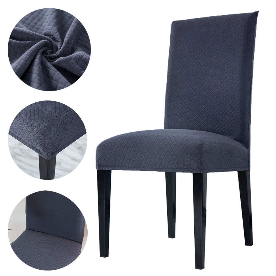 2020 New Super Soft Fleece Fabric Chair Cover Chair Covers Spandex For Dining Room/wedding/Kitchen/Hotel Party Banquet