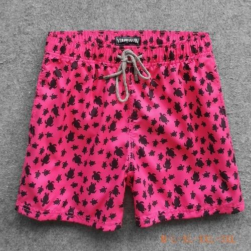 Summer Hot Swim Board Beach Brand Sea Turtle Short Sport Stretch Shorts Causal Pants For Men Male De Bain Homme Fast Dry