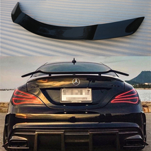 For Mercedes-Benz CLA W117 CLA45 CLA180 CLA200 CLA250 CLA260 Carbon Fiber Rear Trunk Wing Spoiler GT Style 2014 - UP цена