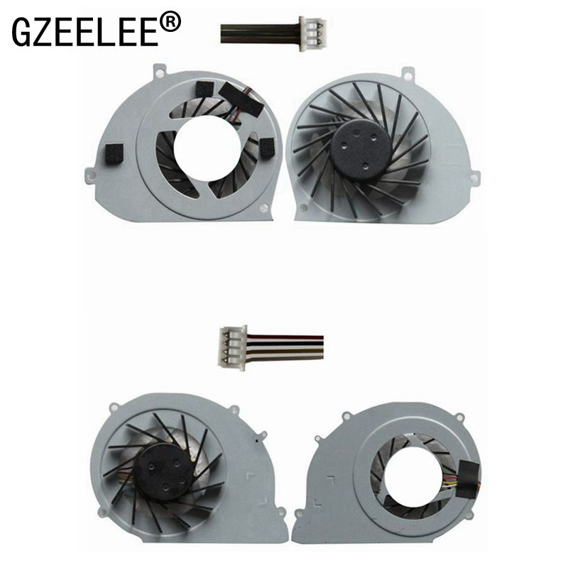 GZEELE new cpu cooling <font><b>fan</b></font> for Toshiba Satellite T130 T131 T132 T133 cooler AD7005HX-QBB 4 wires for Acer Ferrari One <font><b>200</b></font> COOLER image