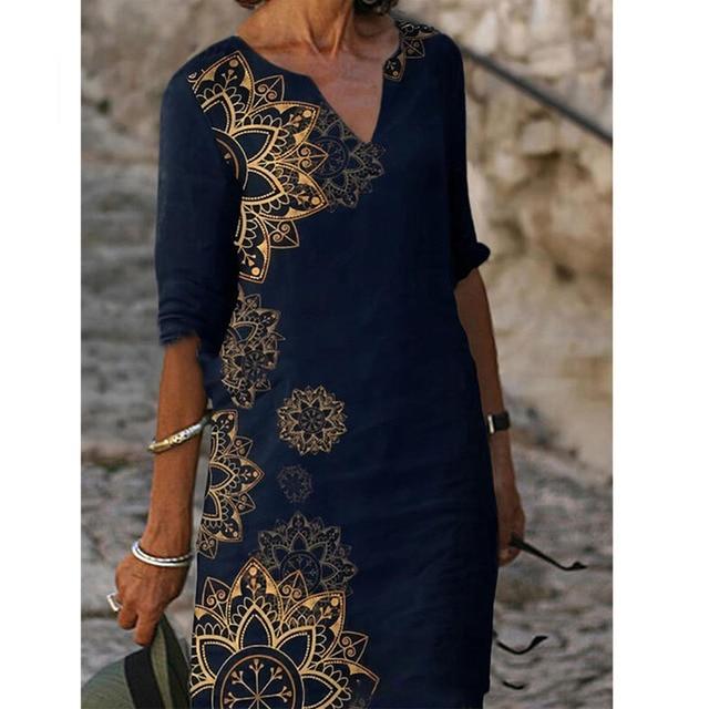 fun designs knee length relaxed dress 4
