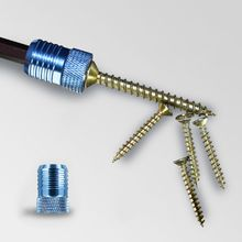 цена на Screwdriver Bits Magnetic Ring Metal Strong Magnetizer Screw Positioning Accessories Pick Up Tool