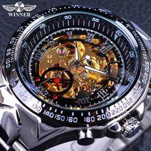 Роскошные Брендовые мужские часы военные спортивные Ретро автоматические