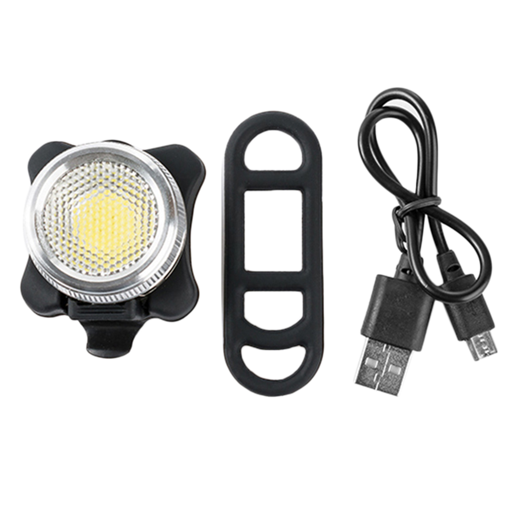 OUTAD Cycling Bicycle Bike Warning Light COB LED Head Front Rear Tail Clip Ultra Bright USB Rechargeable Lamp Drop Shipping