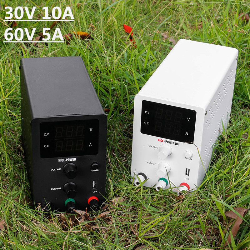 New R SPS Series Lab Switching Power Supply laboratory Adjustable 30V 10A 60V 5A Voltage Regulated DC Power Supplies Bench