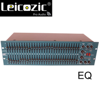 Leicozic fcs 966 오팔 그래픽 이퀄라이저 eq 상수 q 듀얼 이퀄라이저 31 밴드 eq 스테레오 그래픽 eq 프로 오디오 시스템