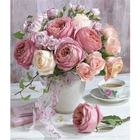 Pink Rose Flowers In...