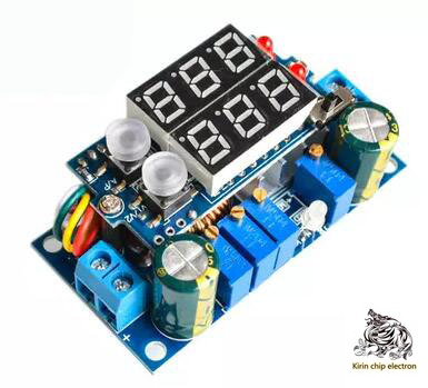 2PCS/LOT Solar Panel MPPT Controller 5DCDC Digital Display Buck Module Constant Voltage And Constant Current Charging