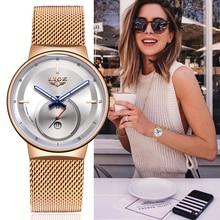 reloj mujer LIGE Fashion Women Watches S