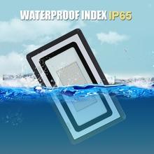 цены на 10w/30w/50w/100W/200W/300W/500W Led Floodlight Ip65 Waterproof of Flood Light Outdoor 110V 220V Led Spotlight Reflector  в интернет-магазинах