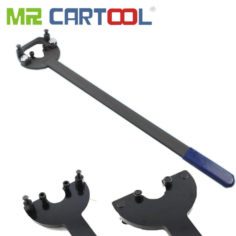 MR CARTOOL EA211 Engine Crankshaft Belt Pulley Retaining Wrench OEM T10475 3415 Dual-purpose CT80009 Car Repair Tool
