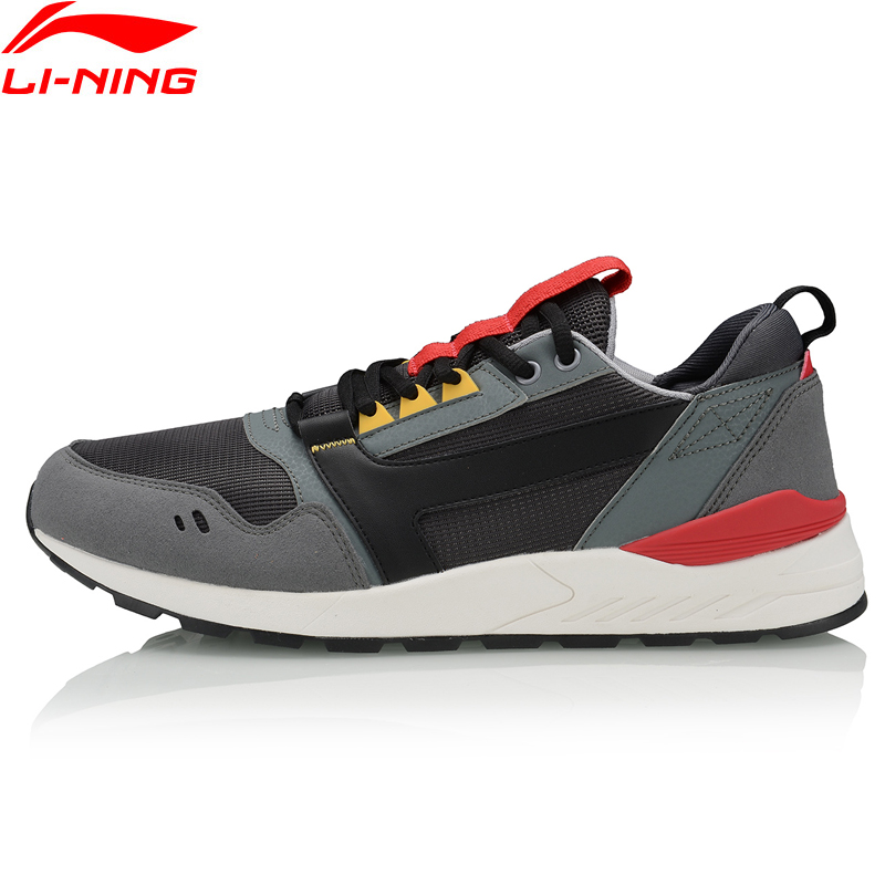 Li-Ning Men LN 90'S Classic Lifestyle Shoes Retro Fitness LiNing Li Ning Comfort Sport Shoes Sneakers AGCP139 YXB329
