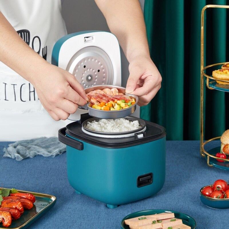 Электрическая мини-рисоварка, интеллектуальная автоматическая Бытовая кухонная плита, на 1-2 человек, маленькая электрическая рисоварка s 1,2...
