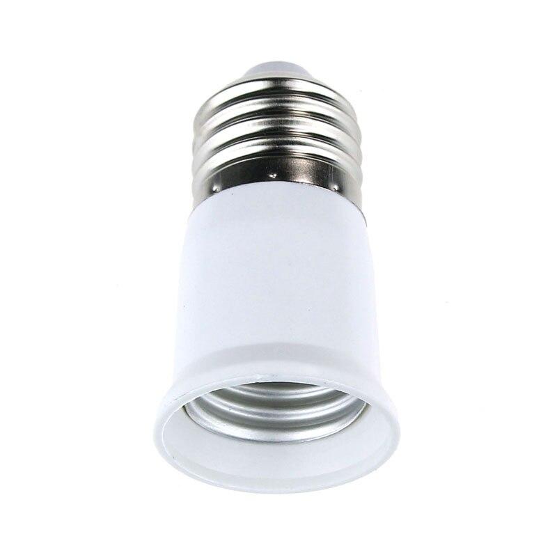 E27 to E27 Extension Base LED Light Lamp Bulb Adapter Socket Converter Connector New