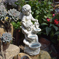 Garden Resin White Angel Outdoor Home Decor n Sculpture Room European Figurine статуэтки для интерьера تماثيل Free Shipping