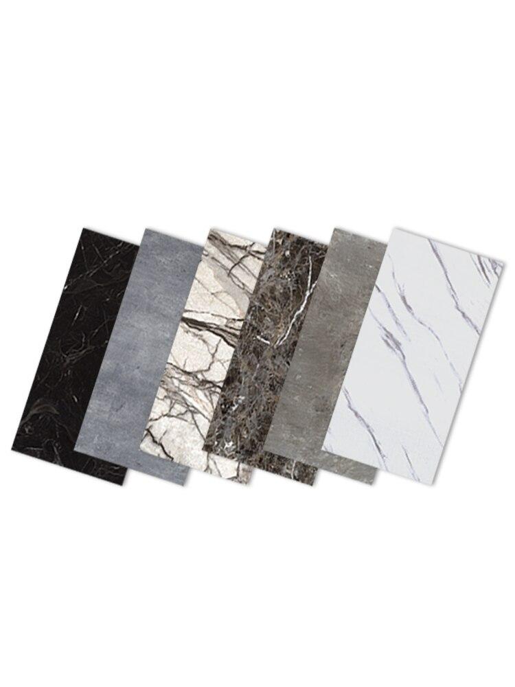 Self-sticking Waterproof Floor Stickers Marble Wallpaper For Bathroom Living Room Modern Floor Home Decor Wall Stickers