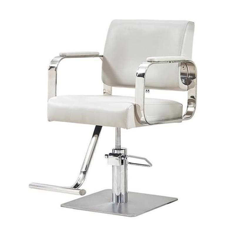 New Hairdressing Chair Hairdressing Salon Special Barber Shop Hairdressing Salon Shearing Chair Stainless Steel Armrest Hairdres