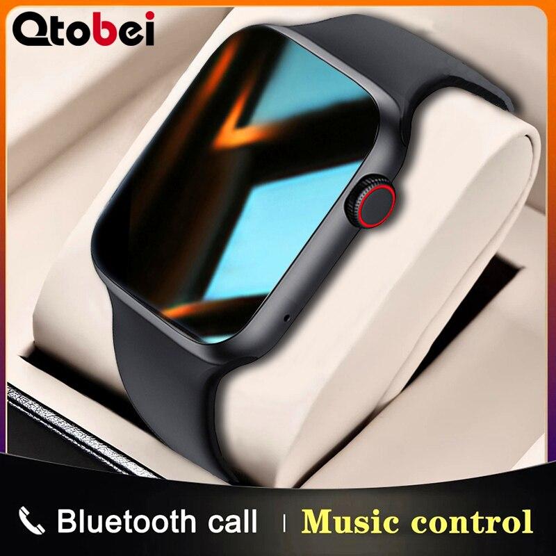 2021 Смарт-часы с Bluetooth вызовом 1,75 дюйма, полный сенсорный экран, спортивные Смарт-часы для мужчин и женщин, монитор сердечного ритма, часы IWO 13