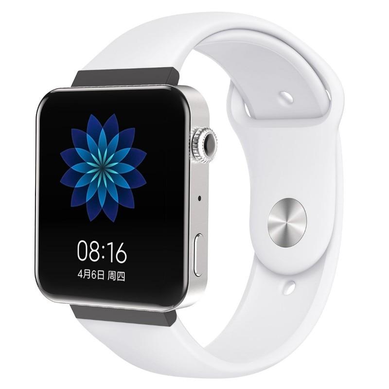 Мягкий силиконовый ремешок для часов для xiaomi smart watch, новинка, сменный ремешок для mi watch, резиновый ремешок для часов, аксессуары - Цвет: 8073