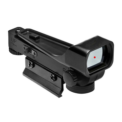 Mira telescópica holográfica para caza, mira telescópica de punto rojo y verde de 11mm para rifle de tiro