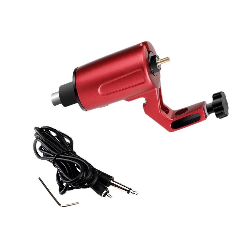RCA Rotary Tattoo Machine Tattoo Machine for Shader Liner Tattoo Motor Machine Rotary Tattoo Machine Parts(Red)
