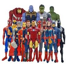 30 см Titan Hero Marvel Мстители 3 Бесконечная война танос фигурка игрушка ПВХ Коллекционная модель игрушки для детей