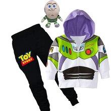 Wholesale Retail Kids Autumn Cartoon Toy Story 4 Mania Suits