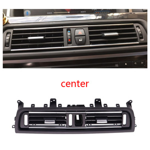 Image 3 - LHD Front Row Wind Left Center Right Air Conditioning Vent Grill Outlet Panel With Chrome Plate For BMW 5 Series F10 F18