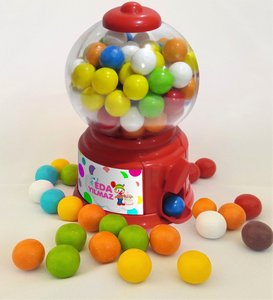 Personalized Nostalgic Mini Gum Machine Kırmızı-2
