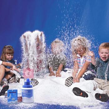 Gorący sprzedawanie magiczne rekwizyty DIY natychmiastowy sztuczny śnieg w proszku symulacja sztuczny śnieg na imprezę świąteczne dekoracje tanie i dobre opinie CN (pochodzenie) Proszku śniegu white Outdoor Christmas Decoration