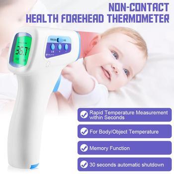 Non-Contact Body Temperature Gun Digital Infrared Thermometer 34℃-42.9℃(93.2~109.4°F) home supply