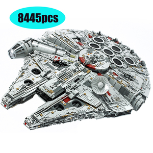 05132 Ultimate Millenniums Lepinblock Starwars Falcon Model Bouwstenen Set Ster Schip 75192 Speelgoed Verzamelaars Bakstenen Kinderen Gift