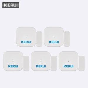 Image 1 - KERUI 5ps D028 maison intelligente sécurité Portable Anti bourreur alarme antivol fenêtre porte capteur détecteur système dalarme contrôleur
