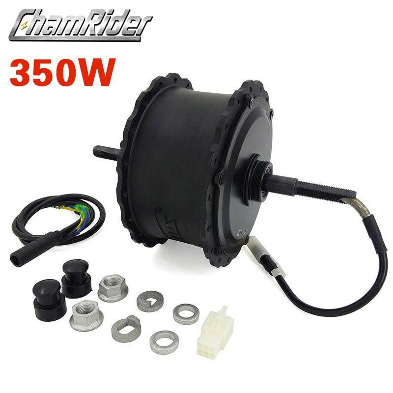 Image 4 - 48V 350W 750W High Speed Brushless Gear Hub Fat Bike Motor E bike  Motor Rear  Wheel Drive for 175 mm 190mmFork MXUS BrandElectric Bicycle Motor   -