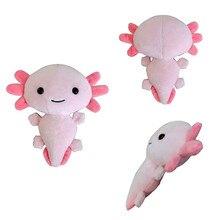 20cm Cute Kawaii Axolotl Plush Toy Squishmallowing Axolotl Stuffed Animals Plushie Doll Baby Toys Room Decor Kids Gift