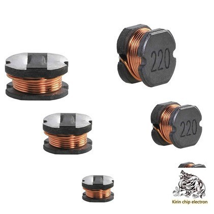 20PCS/LOT CD75 Power Inductor 471 470UH 1A Patch 7*5 Wire Wound Inductor Copper Core