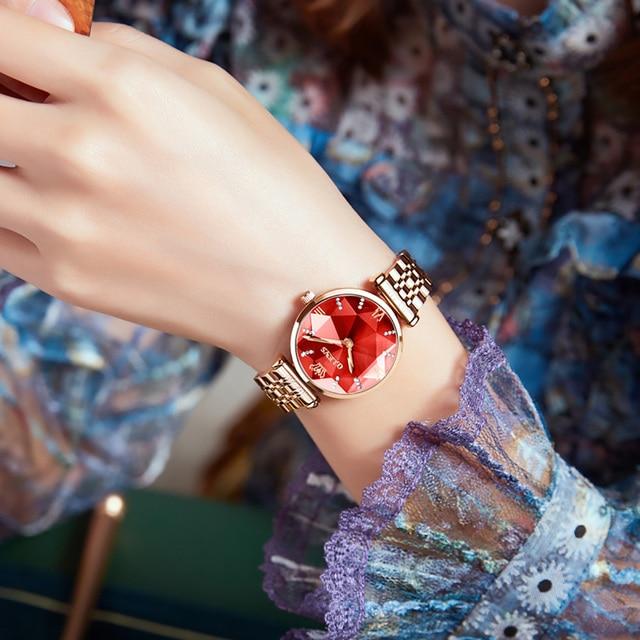 OLEVS Brand Watch  Fashion Hot Sale Women's Watch Waterproof Women's Watch Quartz Watch 4