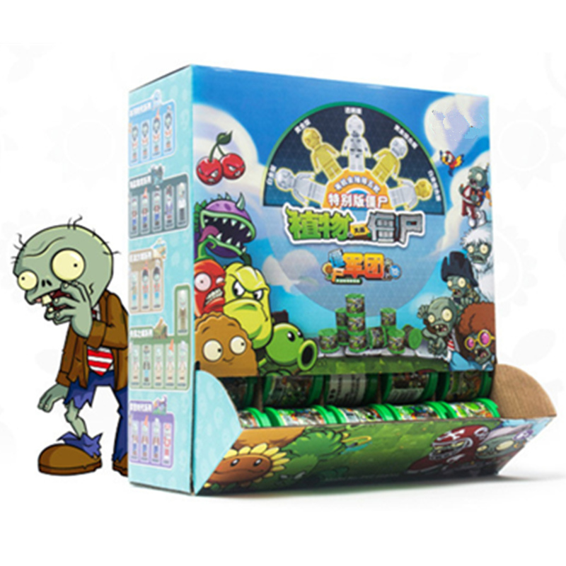 Limited Edition 50 Styles Plants Vs Zombies Legion Struck Game Building Blocks Set Gift Action Figures Role Play Toys Kids Gift