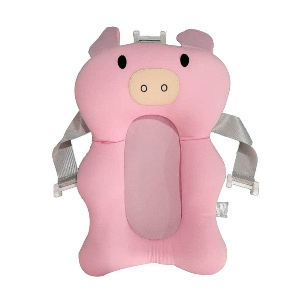 suporte de chuveiro suspenso macio seguranca universal dobravel banho recem nascidos criancas esteira cama almofada ar