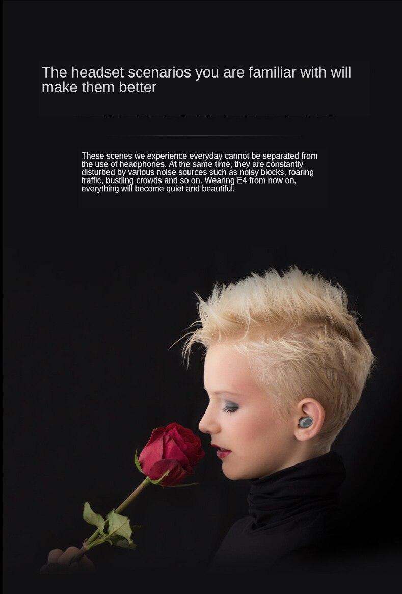 Novo 5.0 bluetooth fone de ouvido portátil